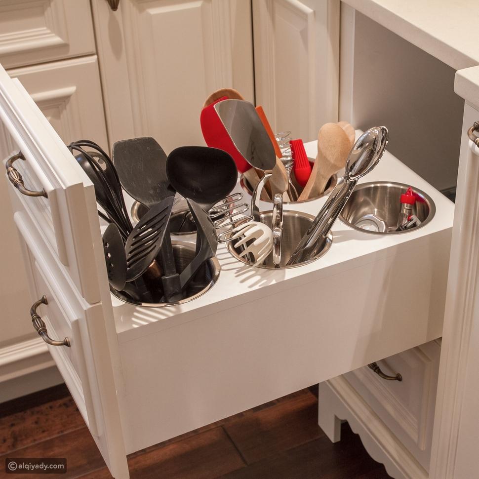 تنظيم أدوات المطبخ