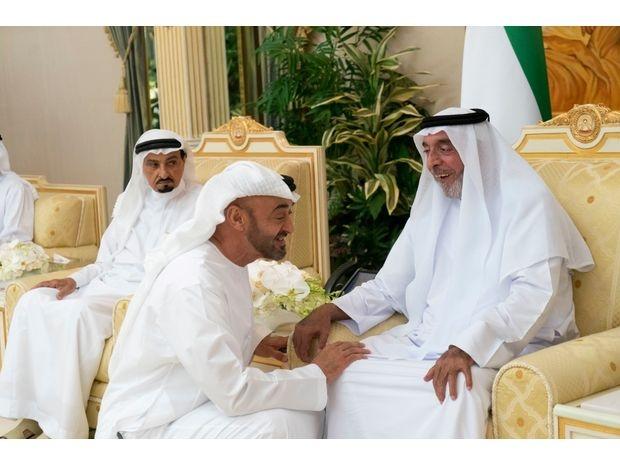 رئيس الإمارات يتلقى التهاني بمناسبة شهر رمضان 3