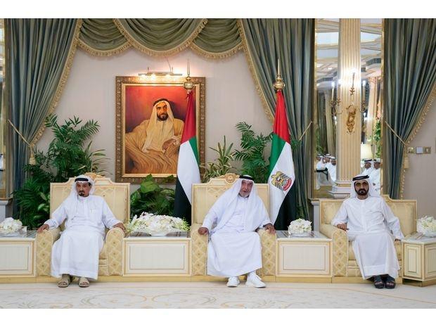 رئيس الإمارات يتلقى التهاني بمناسبة شهر رمضان 2