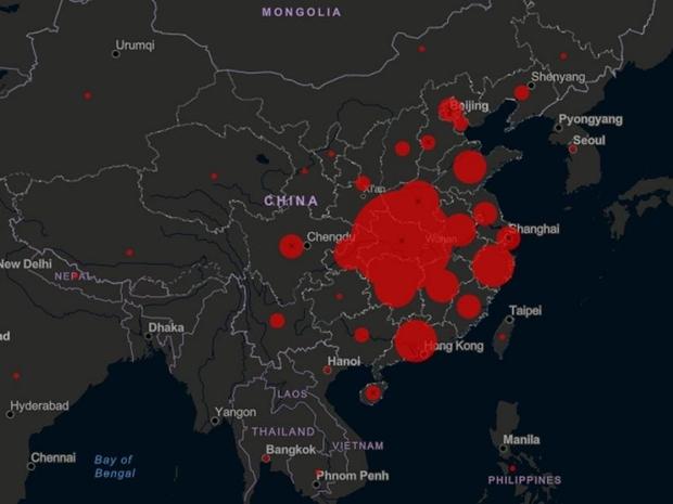 خريطة كورونا: دول سجلت إصابات ووفيات بسبب الفيروس القاتل