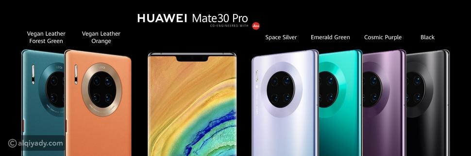 هواوي تعيد ابتكار الهواتف الذكية بإطلاق سلسلة متفوقة HUAWEI Mate 30