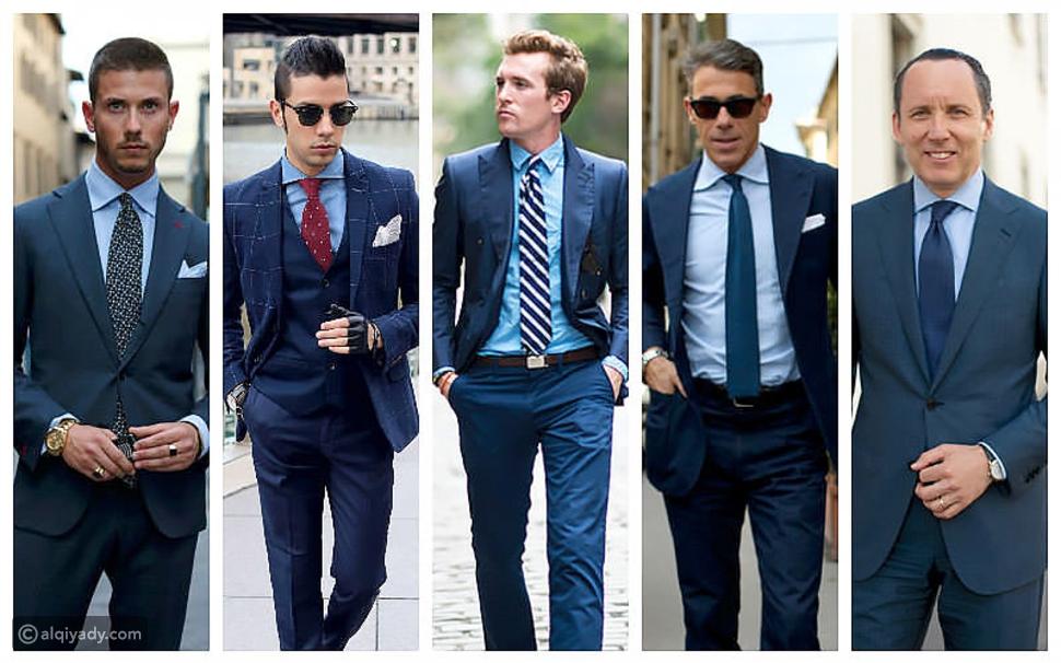 الدليل الشامل لاختيار ربطة العنق المناسبة للقميص الأزرق