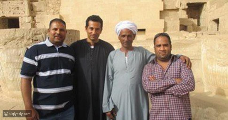 بالصور.. ماذا فعل عمرو سعد مع معجبيه في الأقصر؟
