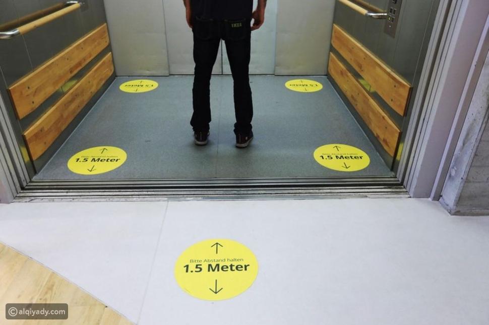 عملك في الطابق العلوي؟ إليك كيفية تجنب الإصابة بكورونا في المصعد