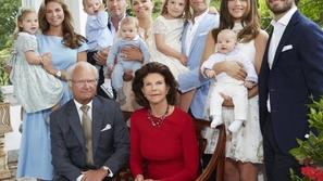 ملك السويد يجرد أحفاده من ألقابهم الملكية والسبب غير متوقع