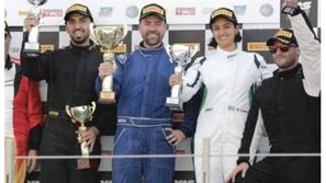 في مشاركتها الأولى.. السائقة السعودية ريما الجفالي تدخل التاريخ
