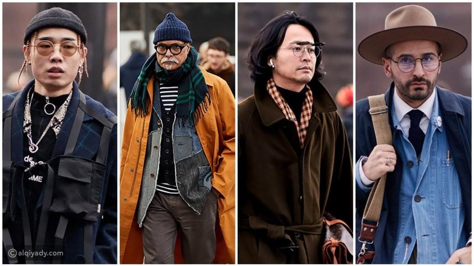 الأزياء الرجالية