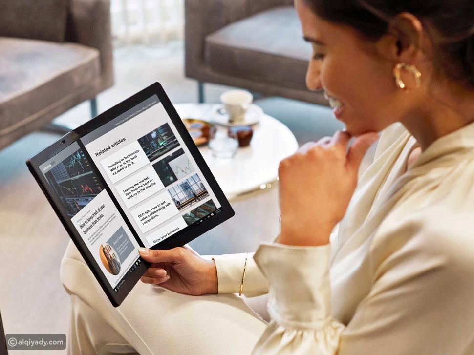 لينوفو تجلب أول حاسوب قابل للطي إلى دولة الإمارات