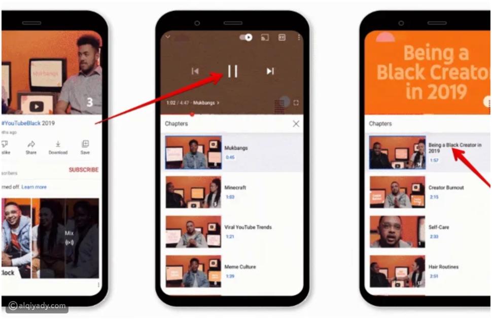 5 مميزات جديدة في التحديث الأخير لتطبيق يوتيوب Youtube