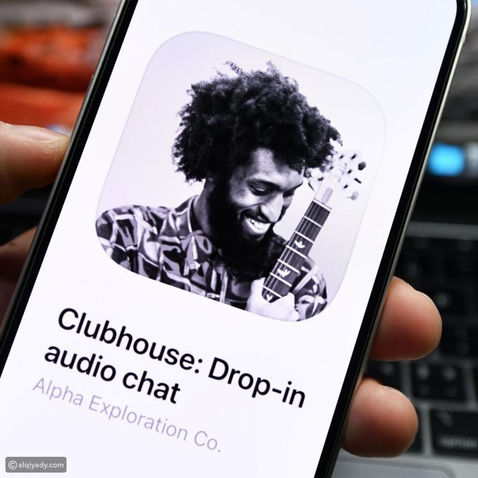 عازف الغيتار وكاتب الأغاني بوماني إكس Bomani X كانت صورته تزين شعار تطبيق كلول هاوس Clubhouse