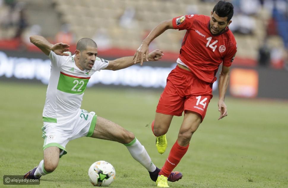 الجزائر وتونس الجابون 2017