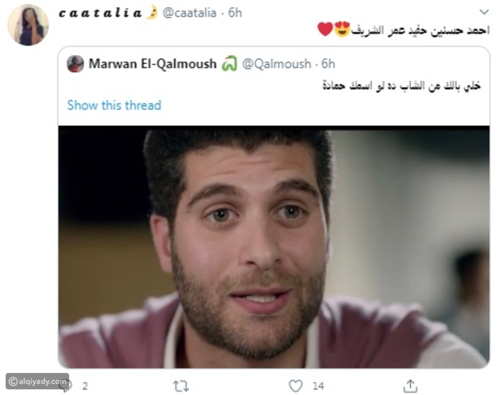 شبيه عمر الشريف يجذب الأنظار في البرنس وبـ 100 وش