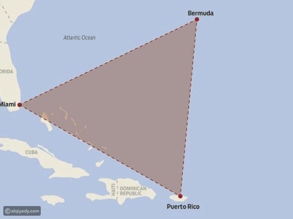 مثلث برمودا الأُسطوري