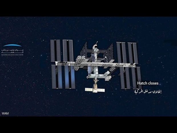 مراحل الهبوط من انفصال المركبة حتى وصولها إلى الأرض 1