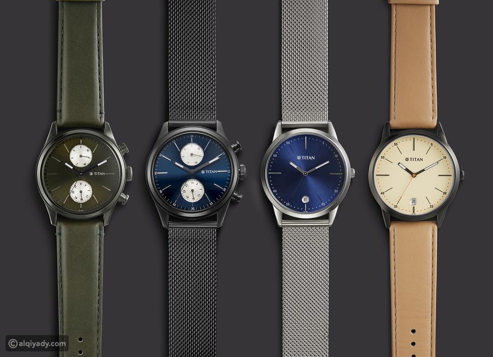 """تيتان تطرح تشكيلة ساعات اليد الجديدة """"إلمنت"""""""