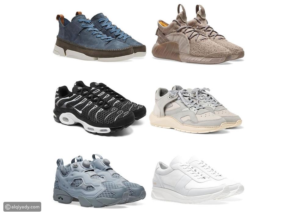 الحذاء الرياضي الضخم