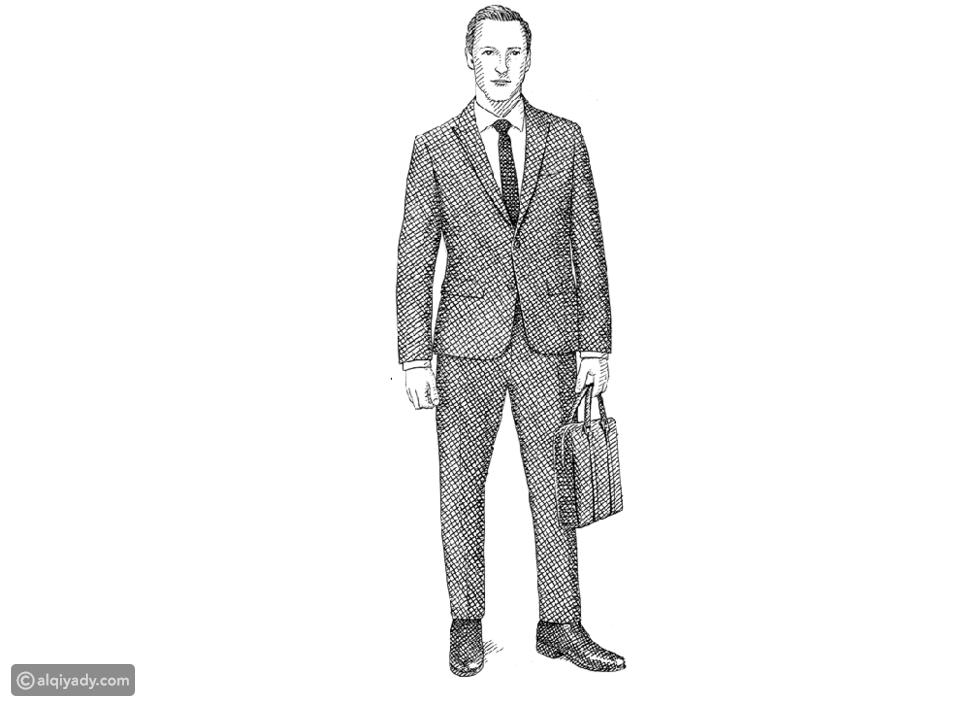 الرجل قصير القامة