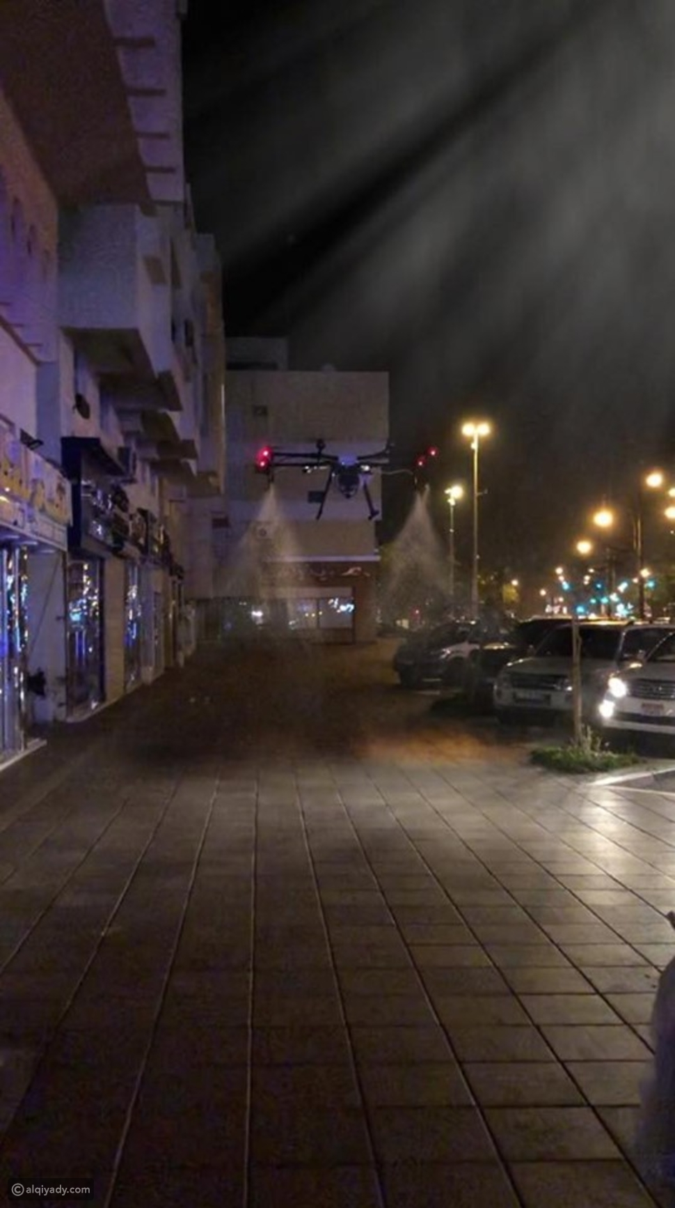 بدون إنسان: دبي تستعين بهذه الأداة لتعقيم شوارعها ضد كورونا