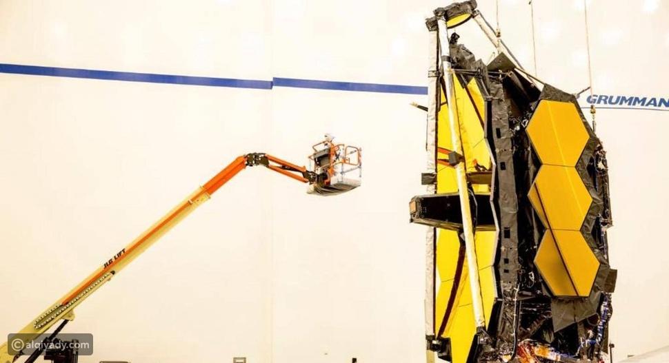 ناسا تزيح الستار عن تلسكوب فضائي هائل الحجم