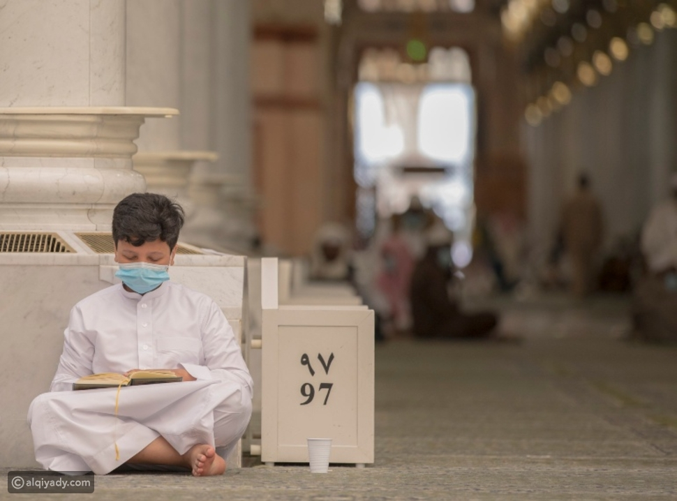 عودة الفتيان إلى المسجد النبوي الشريف بعد انقطاع طويل