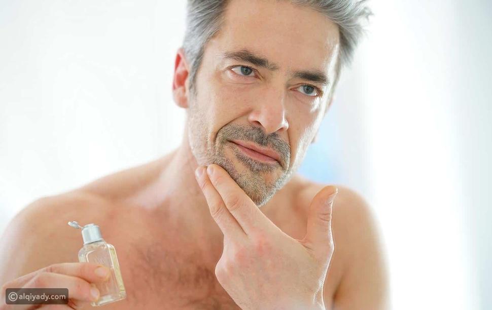 نصائح للعناية بالبشرة للرجال فوق سن الـ 40