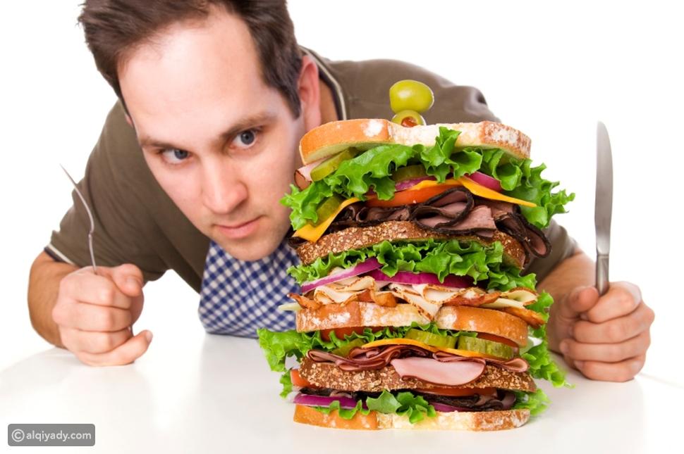 7 أسباب تجعلك تعاني من الشعور الدائم بالجوع
