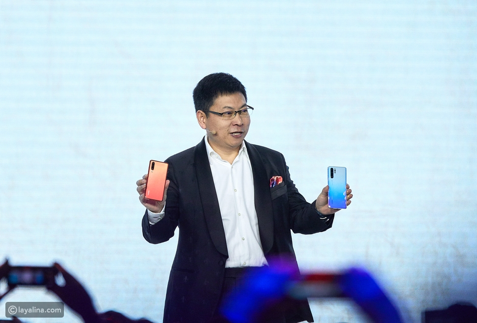Mr.Richard Yu, CEO of Huawei Consumer Business Group at HUAWEI P30 series Global Launch in Paris
