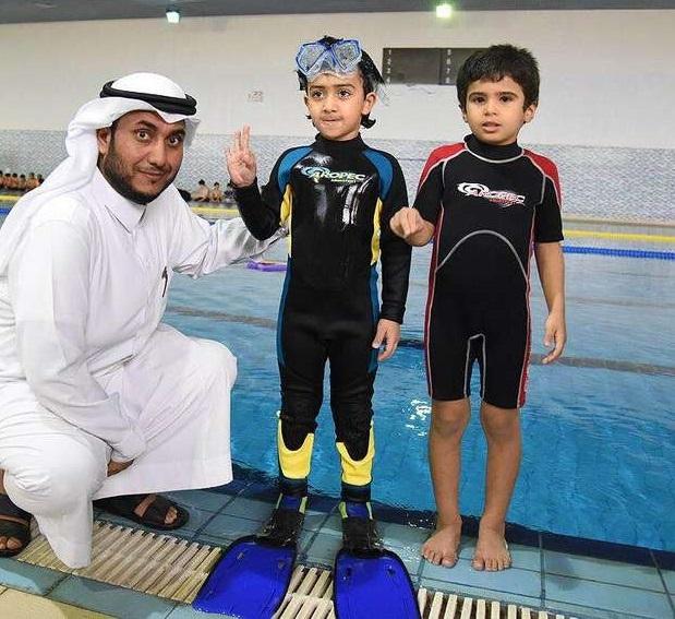 فيديو وصور طفل سعودي يحقق رقماً قياسياً جديداً