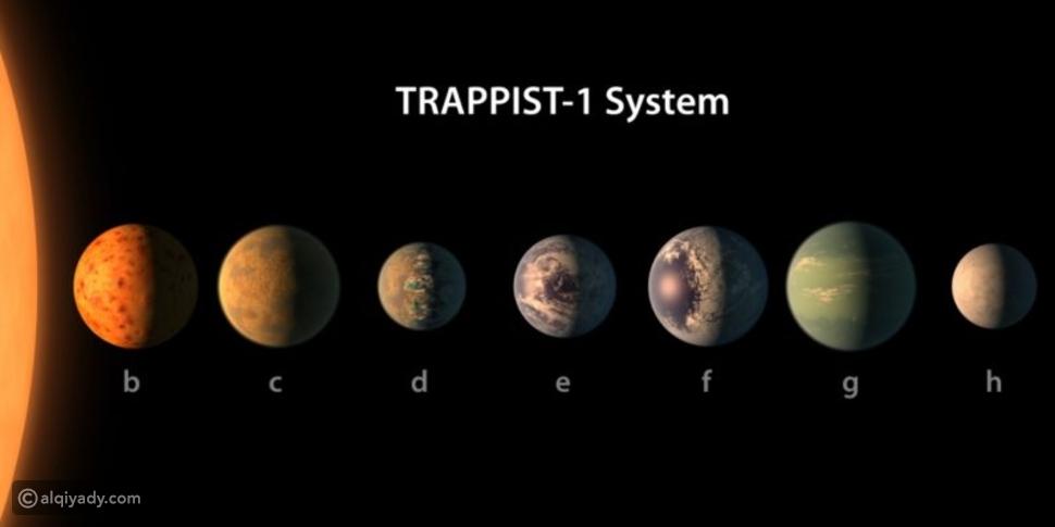 ناسا تكتشف 7 كواكب جديدة قد تصلح للحياة عليها