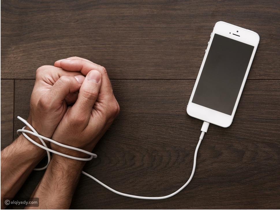 إدمان الهواتف