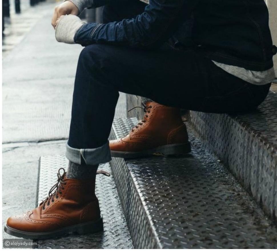 قواعد ارتداء الجوارب الرجالية