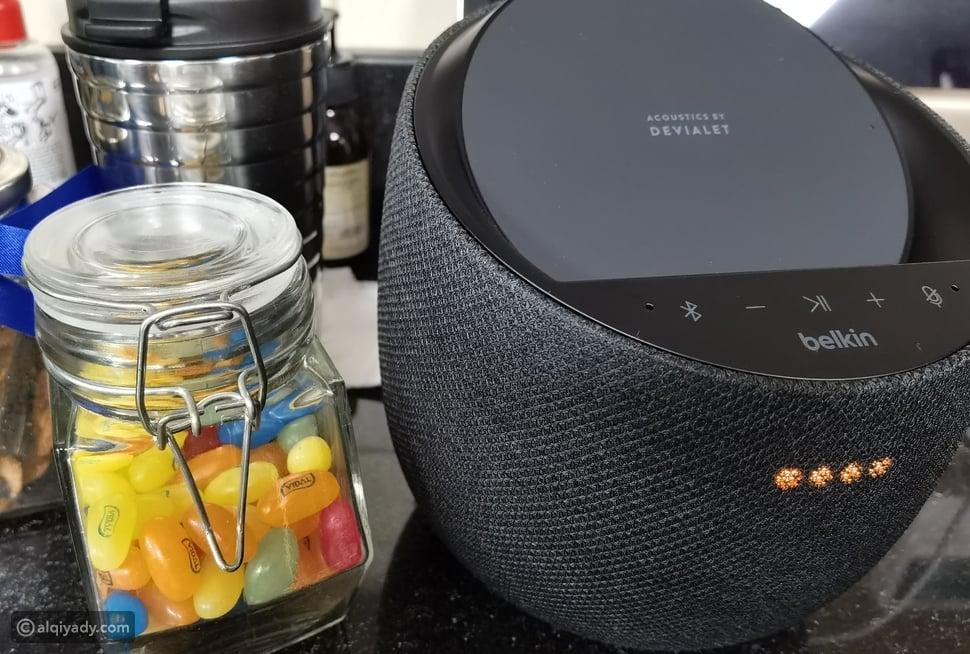 تجمع السماعة الذكية الجديدة من Belkin بين الصوت المتطور...