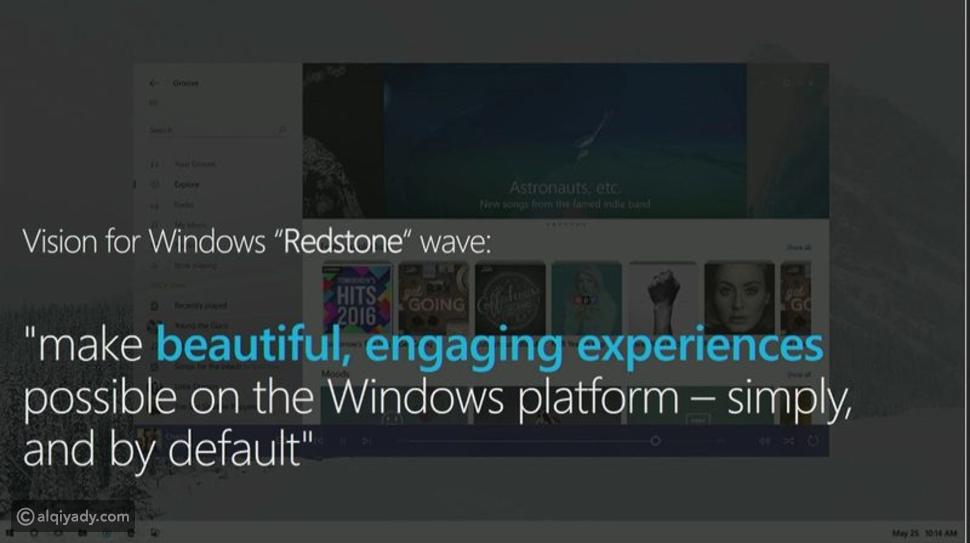 مايكروسوفت تكشف عن بعض تحديثات تصميم ويندوز 10
