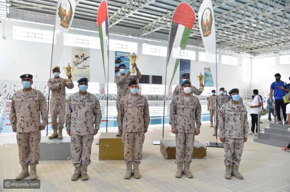 الإمارات: قيادة القوات البرية تفوز ببطولة وزارة الدفاع للسباحة
