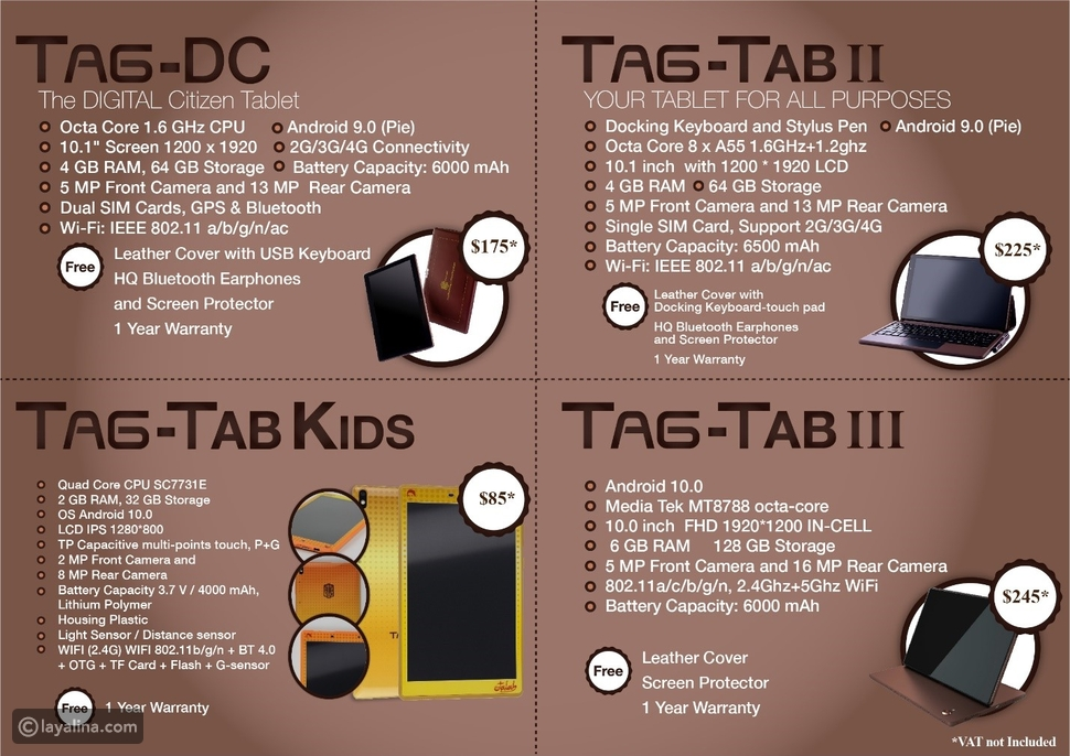 TAG-Phone أول هاتف ذكي عربي بمواصفات عالمية وبأسعار منافسة جدا