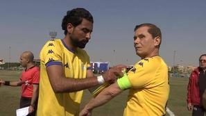 مصري يستعد لدخول غينيس كأكبر لاعب كرة قدم في التاريخ