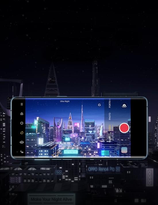 ميزات تجعل من هاتف رينو4 برو 5G مساعدك الأول لإنجاز عملك