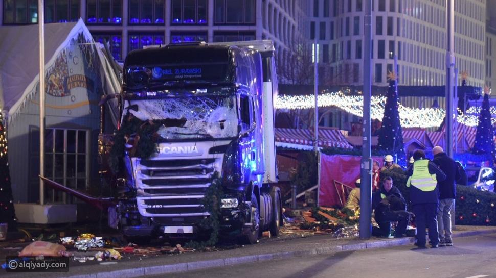 شاحنة تدهس حشداً في أحد أسواق برلين.. مقتل 9 أشخاص وإصابة أكثر من 50