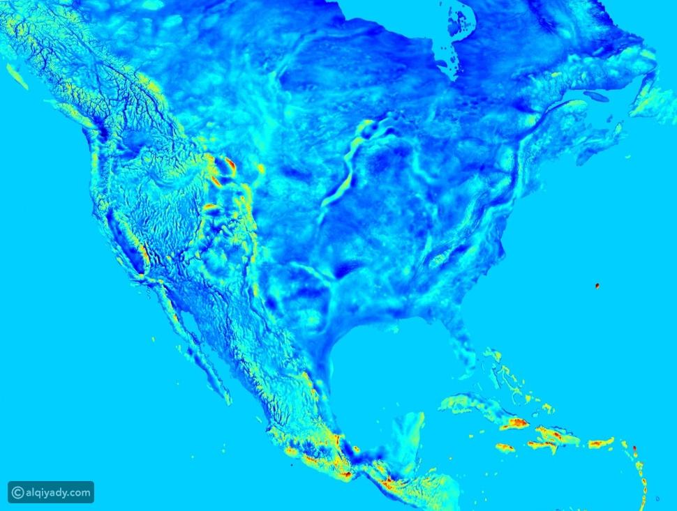 هكذا كان سيبدو كوكب الأرض لو كان بإمكاننا رؤية الجاذبية