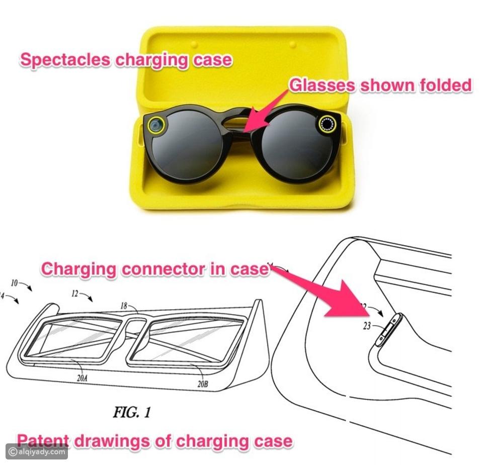 سناب شات تكشف عن طريقة شحن نظارتها الرائدة