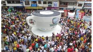 صور: كولومبيا تدخل موسوعة غينيس بأضخم كوب قهوة في العالم