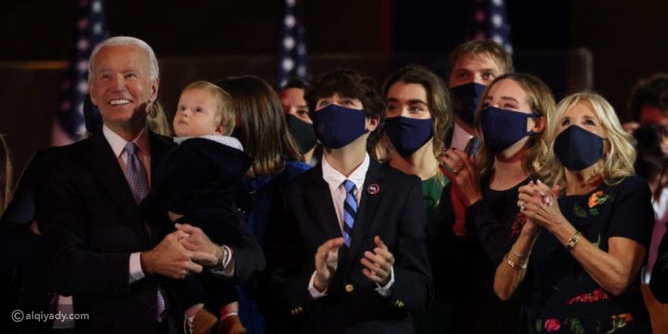 عائلة جو بايدن