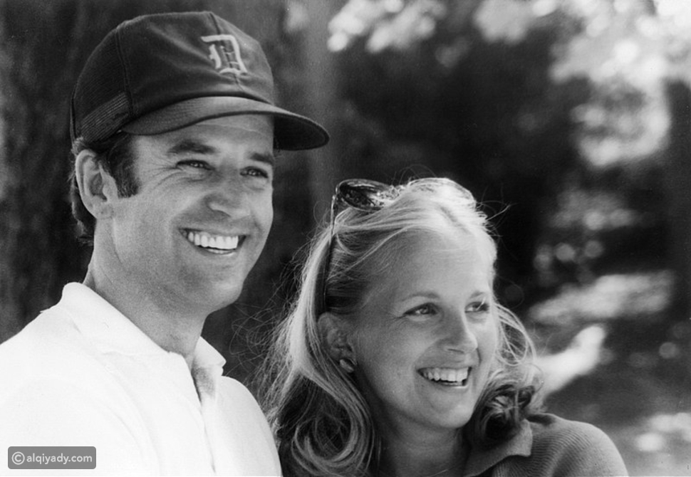 جو بايدن وزوجته الثانية جيل بايدن