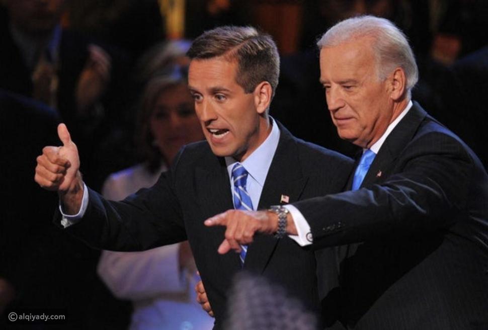 جو بايدن وابنه الراحل بو بايدن