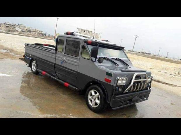 الهامر الحلفاوية.. سيارة سورية محلية الصنع 2