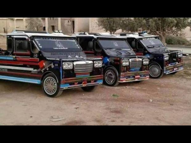 الهامر الحلفاوية.. سيارة سورية محلية الصنع 3