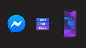 فيسبوك تُعلن عن نسخة أصغر وأسرع وأبسط من ماسنجر لهواتف آيفون