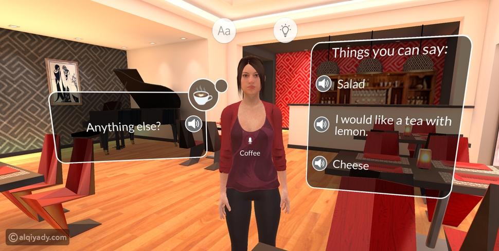 الواقع الافتراضي يقتحم عالم تعلم اللغات