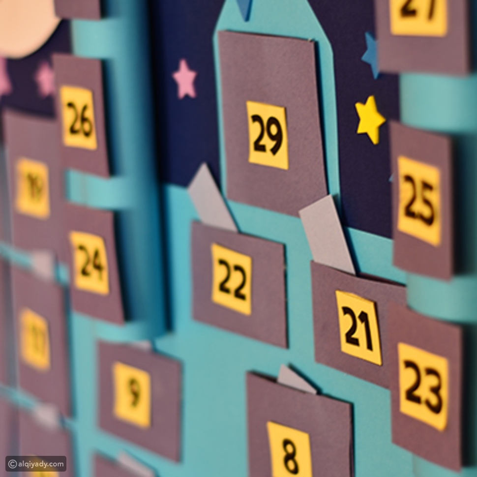 خطوات لاستمتاع ومشاركة الأطفال في رمضان - لعبة الرسائل اليومية