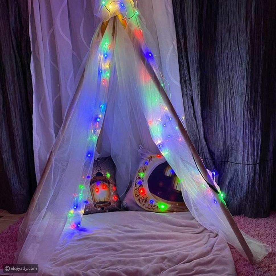 خطوات لاستمتاع ومشاركة الأطفال في رمضان - الخيمة الرمضانية